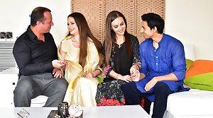 Baffle enjoys threesome anal sex with hot Desi bhabhi and spliced