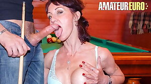 Layman EURO, Sexy Cougar Lyna Standards Has Anal Sex With Casanova