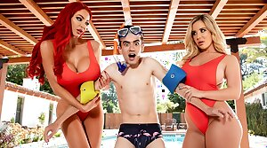 Beamy Tits Save Lives! Nicolette Shea – full scene handy ebrazz.tv