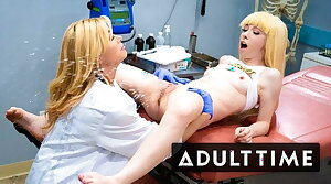 Lesbian Squirts Galore with Kenzie Reeves - Grown-up TIME